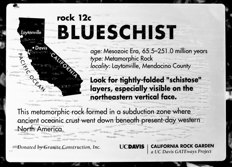 Blueschist-description